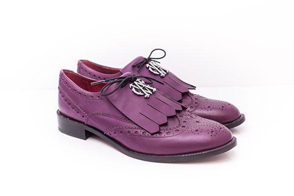 5f39fee77d1 Промоция-Дамски обувки Purple класик – Von Goldenburg