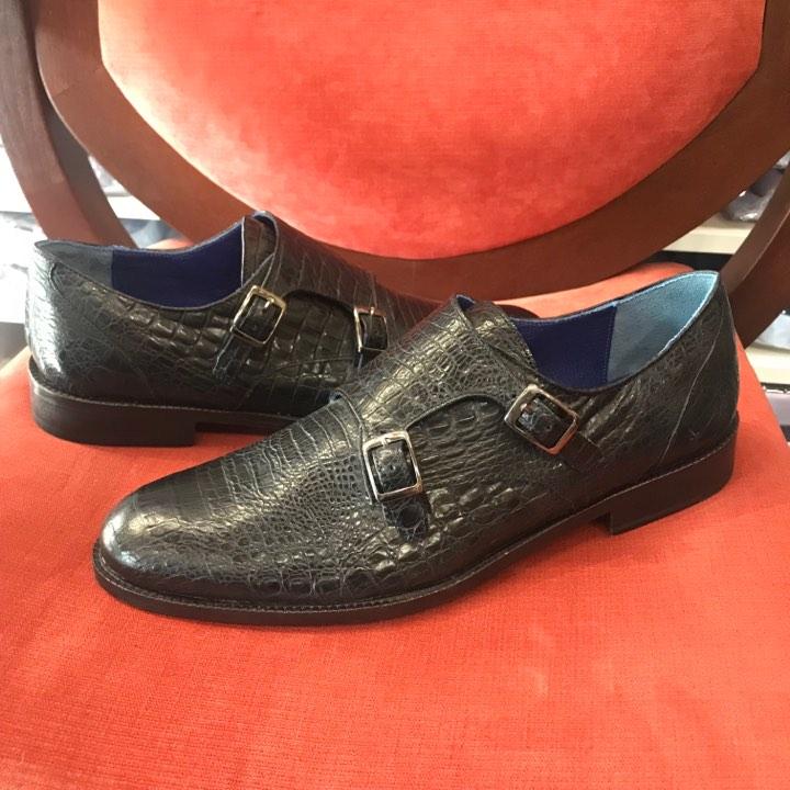 775610c0efd Промоция-Мъжки обувки-естествена кожа-двойна тока-питон – Von Goldenburg